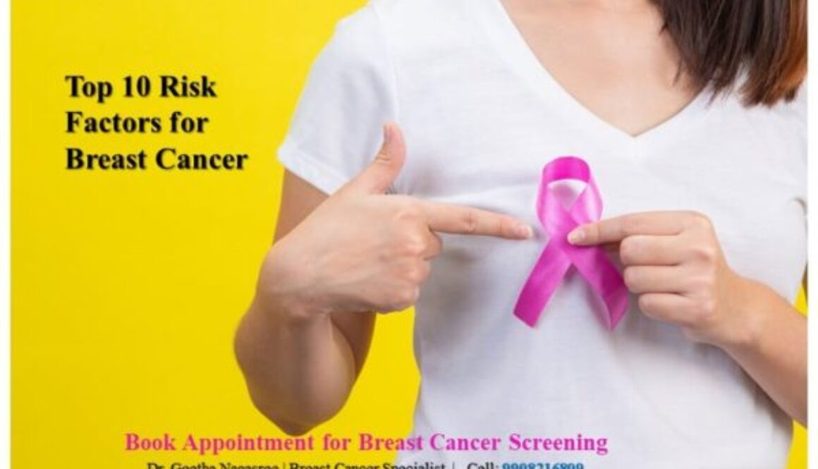 Top 10 risk factors for breast cancer